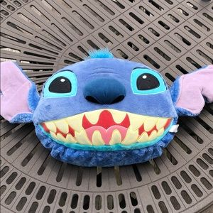 Disney Stitch pillow with pouch on back